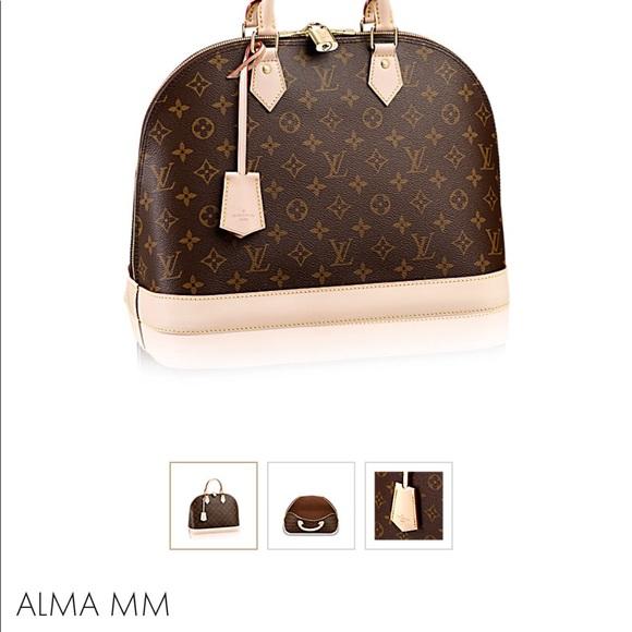 1bb0a3ccc12c Louis Vuitton Handbags - Handbag Louis Vuitton Alma style large size